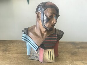 Techno Man Bust