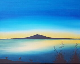 Limited Edition 'Dawn Over Rangitoto'