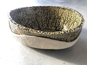 Medium Ash Glaze Bowl